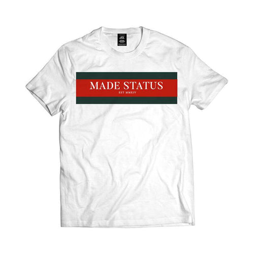 Made Status Finesse White Tee