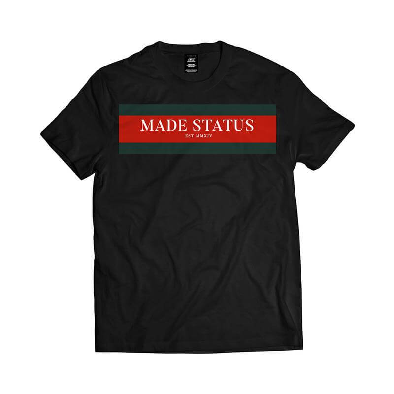 Made Status Finesse Black Tee