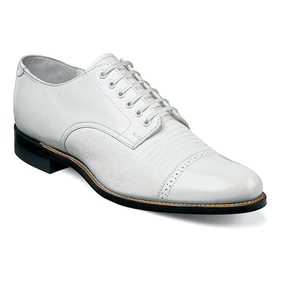 Madison Lizard Cap Toe Oxford