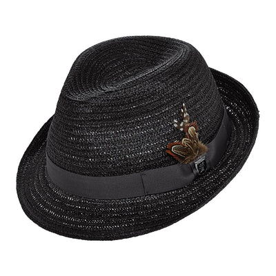 Paper Braid Fedora
