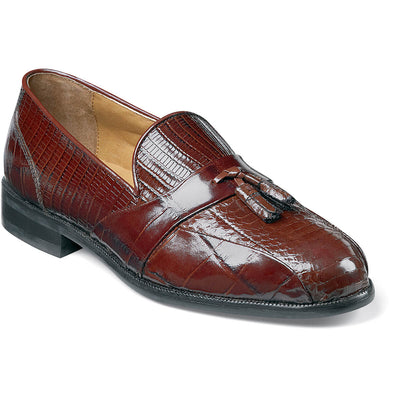 Alberto Bike Toe Tassel Loafer