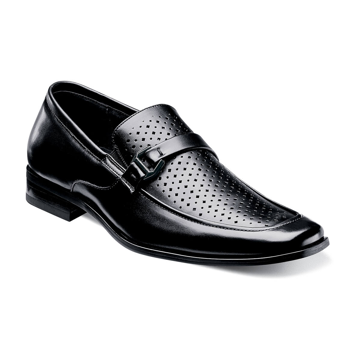 Albach Leather Slip On Shoes - Dapperfam.com