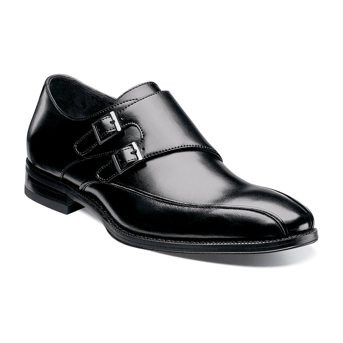 Kildaire Bike Toe Monk Strap Shoes - Dapperfam.com