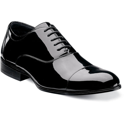 Gala Patent Leather Cap Toe Oxford
