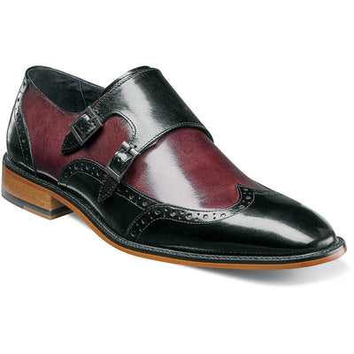 Brewster Double Monk Strap Wing Tip