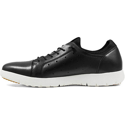 Halden Cap Toe Elastic Lace Up Shoes - Dapperfam.com