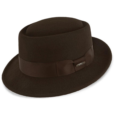 Cranston Porkpie - Chocolate Hat - Dapperfam.com