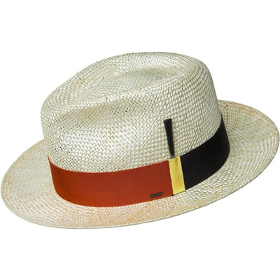 Bailey Costigan Pinch Front Straw Fedora