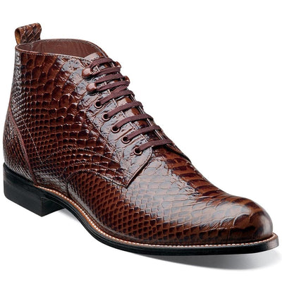 Madison Anaconda Plain Toe Boot