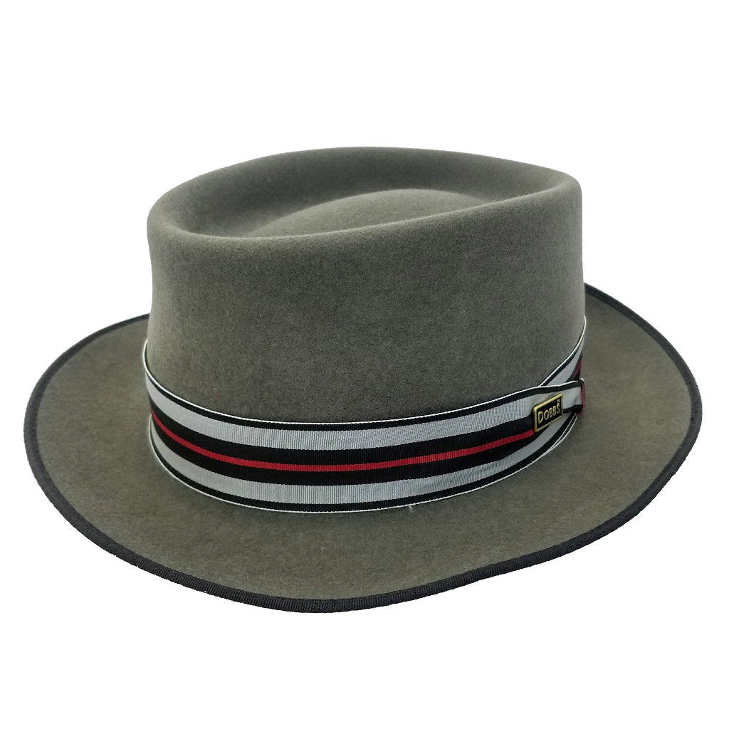 Ripper Wool Felt Porkpie Hat - Dapperfam.com