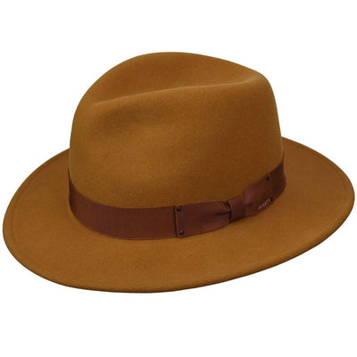 Bailey Curtis Pinch Front Fedora Hat - Dapperfam.com