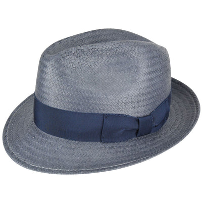 Bailey Lando Straw Fedora Hat - Dapperfam.com