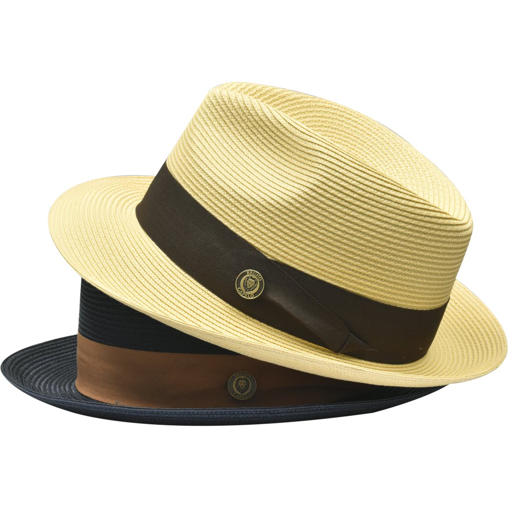 Francesco Straw Fedora - Dapperfam.com