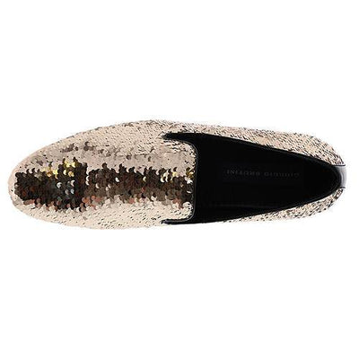 Giorgio Brutini Cohort Loafer - Gold/Silver Shoes - Dapperfam.com