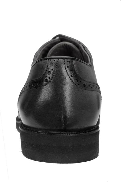 Grant - Antique Charcoal / Black Caiman & Calfskin Oxfords