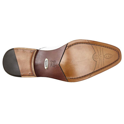 Belvedere Savana Genuine Ostrich and Italian Calf Men's Slip On Shoes - Dapperfam.com