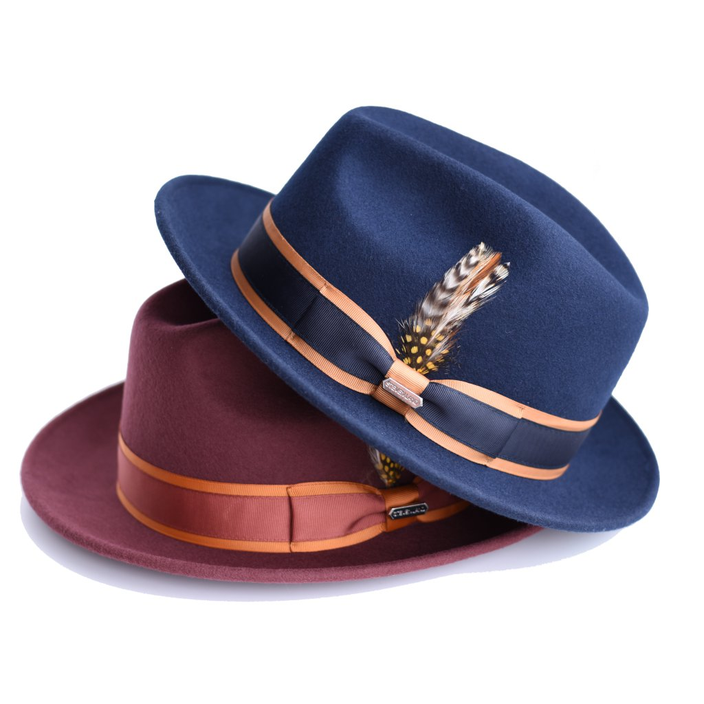 Steven Land London Collection Wool Fedora