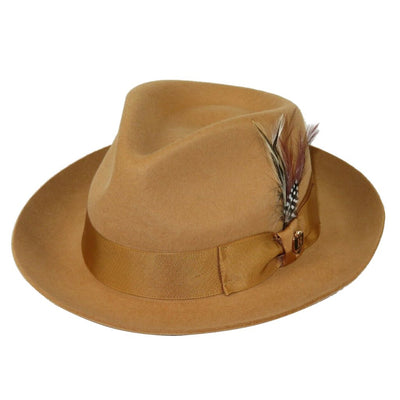 Fabio Teardrop Crown Fedora