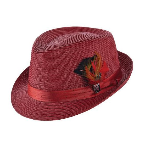 Trilby Teardrop Crown Fedora