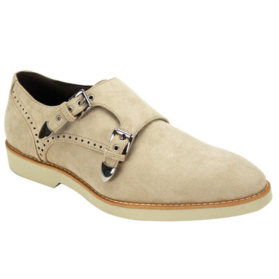 Double Monk Oxford Shoes - Dapperfam.com