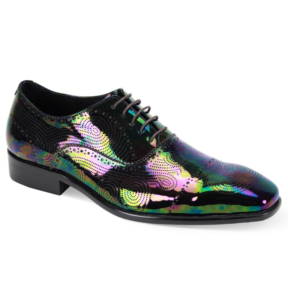 Black Pearl Lace-up Oxford Shoes - Dapperfam.com