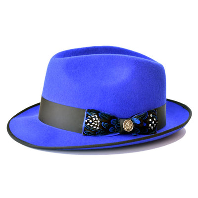 Steven Land Guiliano Wool Fedora