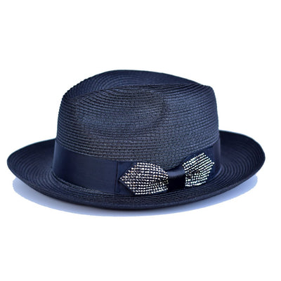 Steven Land Hollywood Straw Fedora