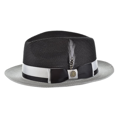 Steven Land Signature Natural Milan Hemp Fedora
