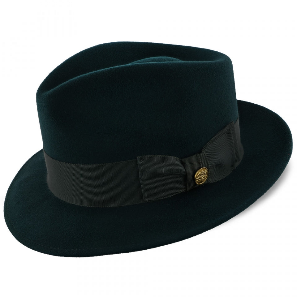 Stetson Grayson Teardrop Crown Fedora Hat - Dapperfam.com