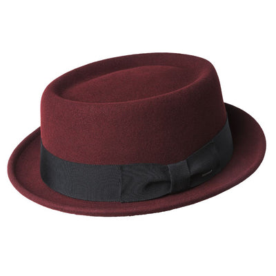 Bailey Darron Wool Felt Pork Pie Hat - Dapperfam.com
