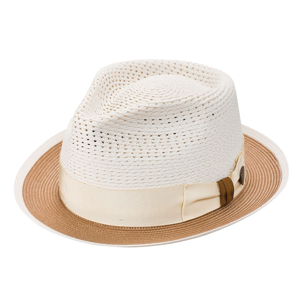 Torero Vented Crown Milan Straw Hat - Dapperfam.com