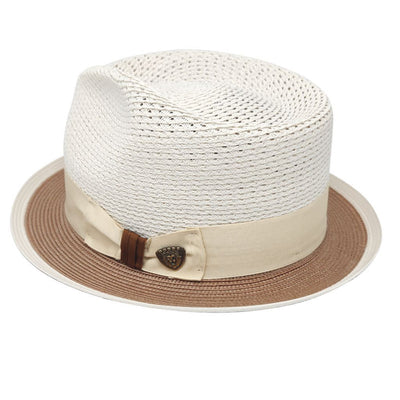Torero Vented Crown Milan Straw Hat Hat - Dapperfam.com