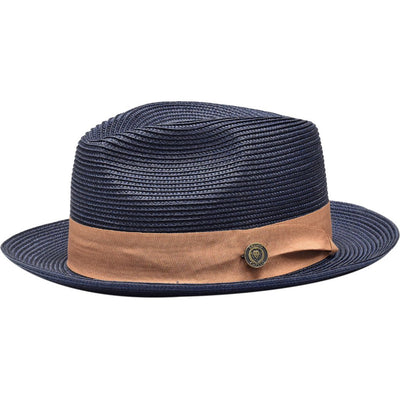 Francesco Straw Fedora Hat - Dapperfam.com