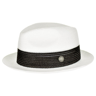 Broadway 100% Natural Milan Hemp Fedora