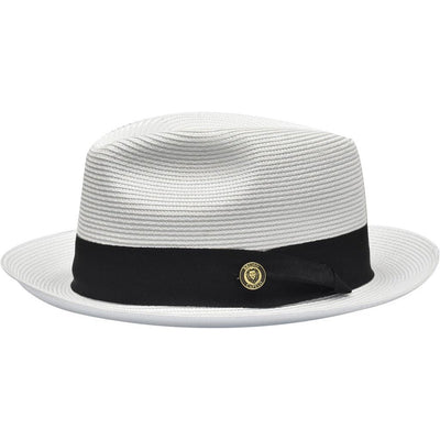 Francesco Straw Fedora