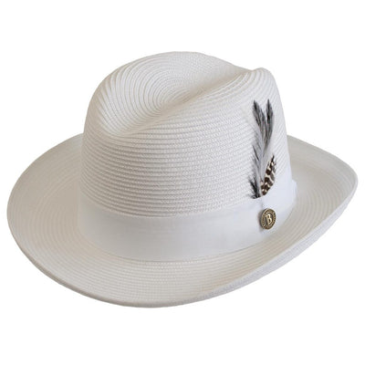 Godfather Straw Fedora - Dapperfam.com