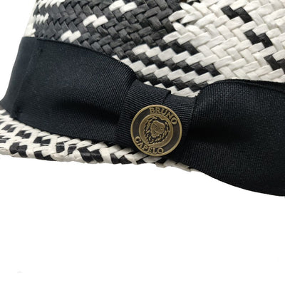 Straw Patterned Legionnaire Cap Hat - Dapperfam.com