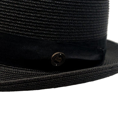 Monoco Straw Pork Pie Hat - Dapperfam.com