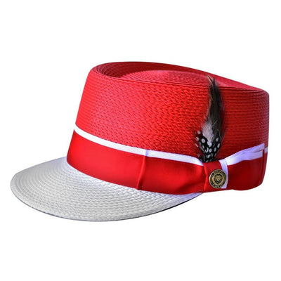 Straw Two Tone Legionnaire Hat - Dapperfam.com
