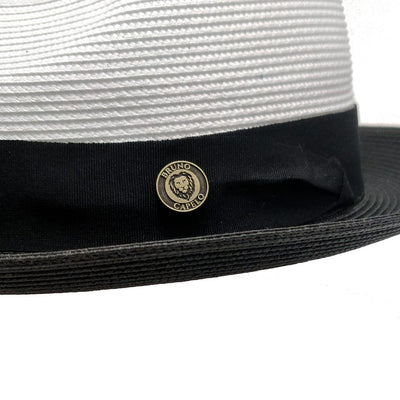 Salvatore Pinch Front Straw Fedora Hat - Dapperfam.com