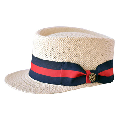 Natural Cream Straw Legionnaire Cap Hat - Dapperfam.com