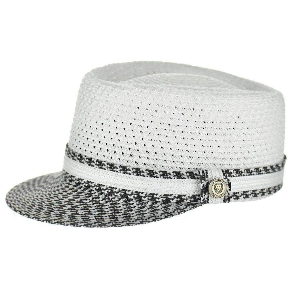 Straw Two-Tone Vented Legionnaire Hat - Dapperfam.com