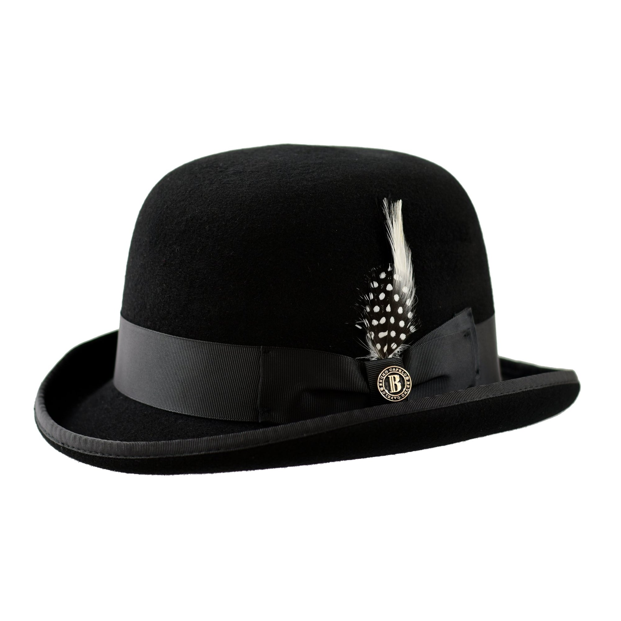 Bruno Capelo The Bowler Wool Derby Hat