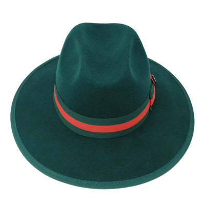 Bruno Capelo Wesley Large Brim Pinch Front Hat - Dapperfam.com