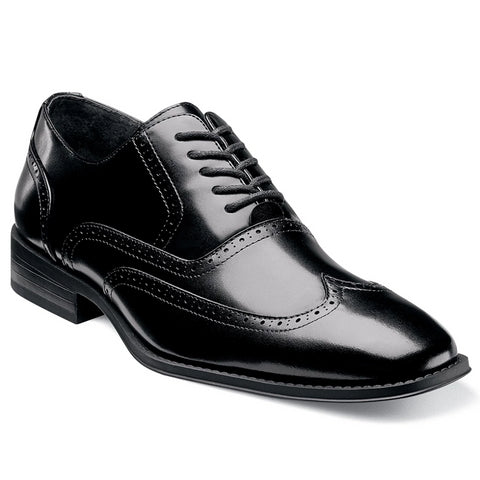 Stacy Adams Wardell - Black Shoes - Dapperfam.com