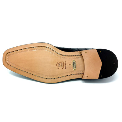 Belvedere Cava Ostrich, Eel, and Calf Skin Oxford - Brown Shoes - Dapperfam.com