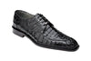 Chapo - Black Caiman Alligator Black Oxfords