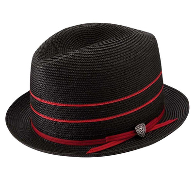 Horatio Two Tone Centerdent Hat Hat - Dapperfam.com