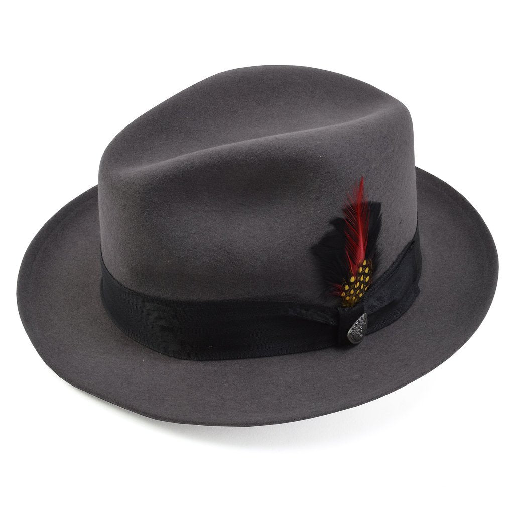 Glen Cove Wool Felt Fedora Hat - Dapperfam.com