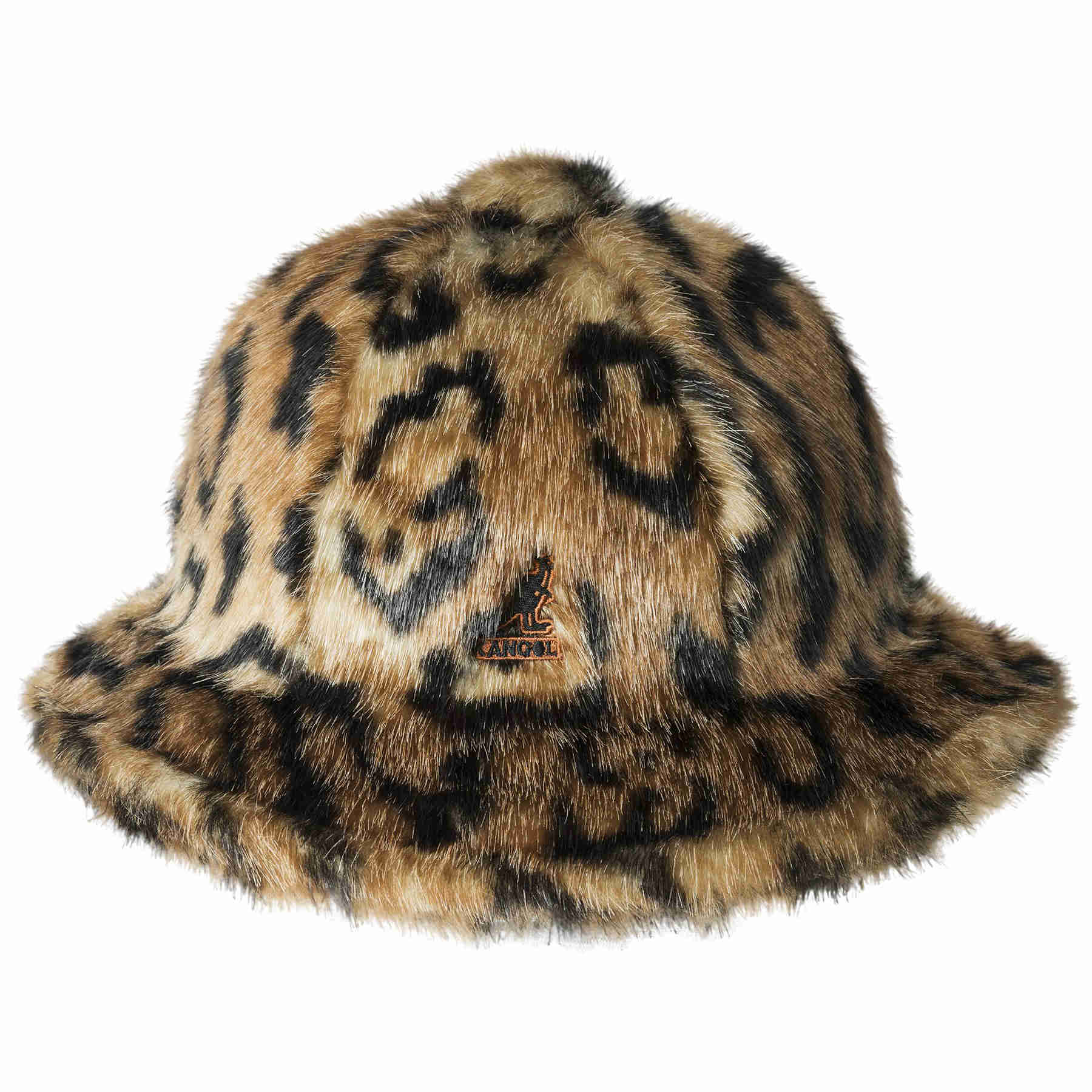 Kangol Faux Fur Casual Bucket Hat - Dapperfam.com